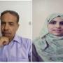 عزام أبو الحمام وابتسام حمديني