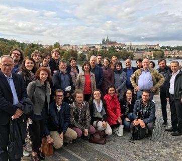 فريق كل من المرصد العربي للصحافة والمرصد الأوروبي للصحافة